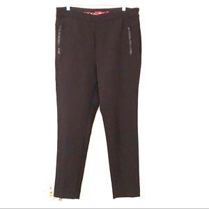 Anthropologie Cartonnier Skinny Black Dress Pants